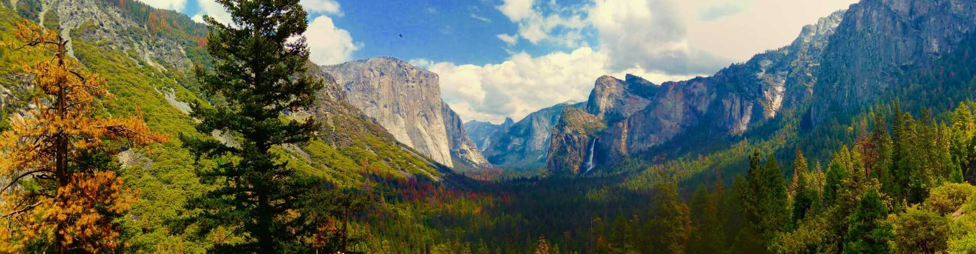 Estados Unidos - Cumes do Yosemite