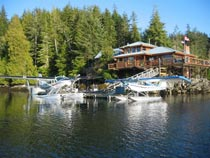 2º dia - Vancouver – Farewell Harbour Lodge